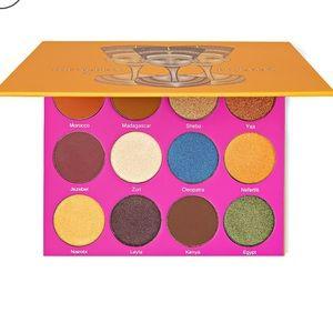 the nubian 2 juvias place eyeshadow palette
